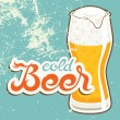 Cold Beer — Vector de stock #25575113