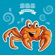 Crab — Stock Vector
