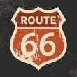 Route 66 sign — Vettoriale Stock #30690631