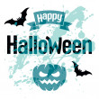 Halloween vector card — Stockvector #31783653