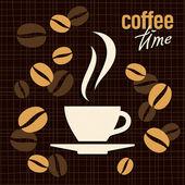Kaffee-vektor-illustration — Stockvektor
