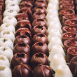 Homemade chocolate candies — Stock Photo #20116725