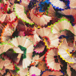 Multi-coloured bright sawdust — Stock Photo #27480305