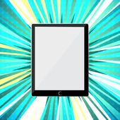 Abstract tablet PC — Stock Vector