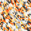Royalty-Free Stock Векторное изображение: Abstract orange cell seamless