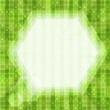 Glare green light background — Stockvektor