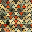 Grunge triangle seamless pattern — Stockvektor