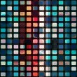 Mosaic cells seamless — Stock Vector #24135727