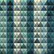 Triangle blue pattern seamless — Vector de stock #24136033