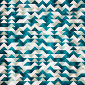 Abstract blue triangle seamless pattern — Wektor stockowy