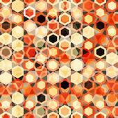 Abstract cells seamless texture — Stock Vector