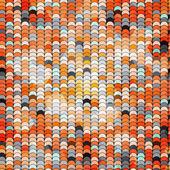 抽象的なサークル オレンジ parren します。 — ストックベクタ
