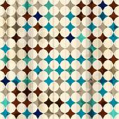 Vintage mozaïek naadloze textuur — Stockvector