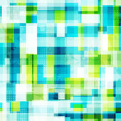 Helder cellen naadloze patroon met grunge effect — Stockvector