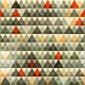 Grunge triangle seamless pattern — Stock Vector