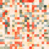 Vintage squares seamless — Stock Vector
