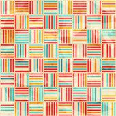 Vintage wattle seamless pattern — Stock Vector