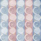 Vintage spiral seamless pattern — Stock Vector