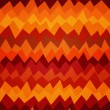 Fire colored zigzag seamless pattern — Vektorgrafik