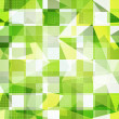 Green squares seamless pattern — Stock Vector