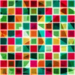 Colored squares seamless pattern — Stock Vector