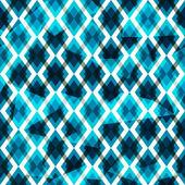 Blue diamonds seamless pattern — Stock Vector