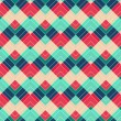 Retro zigzag seamless pattern — Stock Vector