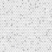 Gray triangle seamless texture with paper effect — Stock Vector