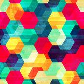 Retro rhombus seamless texture — Stock Vector