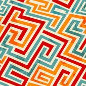 Vintage spirale wzór z moc grunge — Wektor stockowy