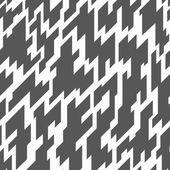 Bianco e nero motivo geometrico senza soluzione di continuità — Vettoriale Stock