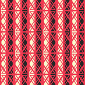 Red ancient seamless pattern — Stock Vector