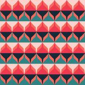 Retro zigzag seamless pattern — Stock Vector