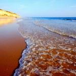 Idillic sand beach on the Atlantic coast — Stock Photo #12049577