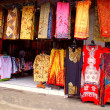 Stock Photo: Balinese colourful batik (Indonesia)