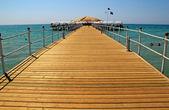 Wooden pier — Stockfoto