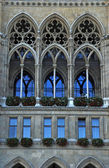 Gothic cathedral window(Vienna) — Stock Photo