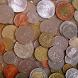 Coin background — Stock Photo