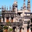 Majestic palace Regaleira(Sintra,Portugal) - Stock Photo