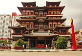 Singapore, Chinatown, Buddha Tooth Relic Temple — Stock Photo