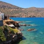 Mediterranean sea coast (Crete, Greece). — Stock Photo