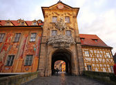 The Old Town Hall in Bamberg(Germany) — Stock Photo