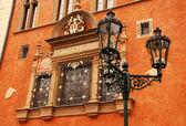 Ornate building in Old Town (Stare Mesto), Prague — Stock Photo