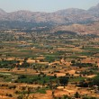 Fields of Lassithi Plateau(Crete, Greece) — Stock Photo