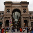 Stock Photo: GalleriVittorio Emanuele II, Milan