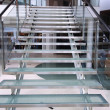 Modern glass staircase — Stock Photo #12274724
