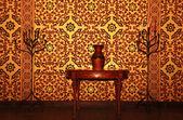 Arabic home interior — Fotografia Stock