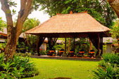 Massage paviljoen (bali, indonesië) — Stockfoto