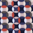 Geometric retro pattern textile — ストック写真