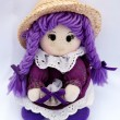 Royalty-Free Stock Photo: Doll in violet